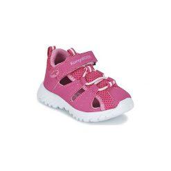 Sandały Dziecko  Kangaroos  ROCK CADET. Czerwone sandały dziewczęce marki Born2be, z materiału, z otwartym noskiem, na zamek. Za 129,00 zł.