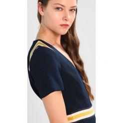 Sukienki hiszpanki: Karen Millen SPLICED STRIPE COLLECTION Sukienka letnia navy