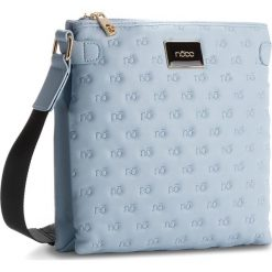 Torebka NOBO - NBAG-E1120-C012 Niebieski. Niebieskie listonoszki damskie marki Nobo, ze skóry ekologicznej. W wyprzedaży za 119,00 zł.