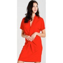 Sukienki hiszpanki: NORR LAKE DRAPE  Sukienka z dżerseju red