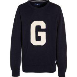 GANT TERRY CREW Sweter blue. Niebieskie swetry chłopięce GANT, z bawełny. Za 379,00 zł.