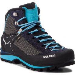 Trekkingi SALEWA - Crow Gtx GORE-TEX 61329-3985 Premium Navy/Ethernal Blue. Czarne buty trekkingowe damskie Salewa. W wyprzedaży za 899,00 zł.