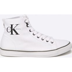 Calvin Klein Jeans - Trampki. Szare tenisówki męskie Calvin Klein Jeans, z gumy. Za 359,90 zł.