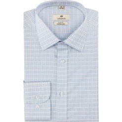Koszula winberg 2560 długi rękaw slim fit niebieski. Niebieskie koszule męskie slim Recman, m, z długim rękawem. Za 179,00 zł.