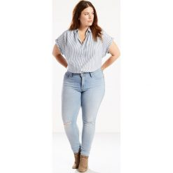 Modelujące dżinsy 310 Shaping Super Skinny Levi's PLUS. Brązowe jeansy damskie marki Levi's®, z obniżonym stanem. Za 379,26 zł.