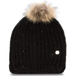 Czapka LIU JO - Cappello Paillettes A68261 M0300 Nero 22222. Czarne czapki zimowe damskie Liu Jo, z materiału. Za 199,00 zł.