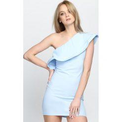 Niebieska Sukienka Loves Me Like You Do. Niebieskie sukienki letnie marki Born2be, s, mini. Za 64,99 zł.