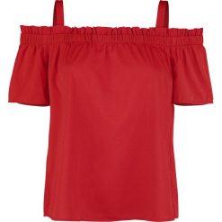 Bluzki asymetryczne: Noisy May Cosmo Koszulka damska czerwony