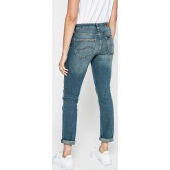 Lee - Jeansy Elly. Niebieskie jeansy damskie rurki marki Lee, z bawełny. W wyprzedaży za 219,90 zł.