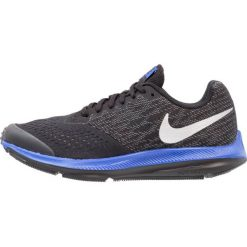 Buty do biegania damskie: Nike Performance ZOOM WINFLO 4  Obuwie do biegania treningowe black/metallic silver/cool grey/racer blue