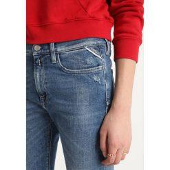 Replay ZACKIE PANTS Jeans Skinny Fit blue denim. Niebieskie jeansy damskie relaxed fit marki Replay. Za 559,00 zł.