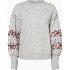 ONLY - Damska bluza nierozpinana, szary. Szare bluzy damskie marki ONLY, s, z bawełny, z okrągłym kołnierzem. Za 179,95 zł.