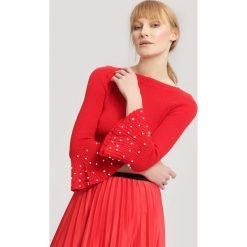 Czerwony Sweter Chimera. Czerwone swetry klasyczne damskie other, uniwersalny. Za 49,99 zł.