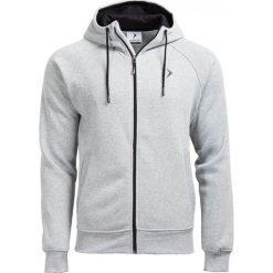 Bluza męska BLM601 - JASNY SZARY MELANŻ - Outhorn. Szare bluzy męskie rozpinane Outhorn, na jesień, m, melanż, z materiału. W wyprzedaży za 62,99 zł.