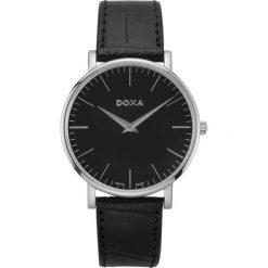 ZEGAREK DOXA D-light 173.10.101.01. Czarne zegarki męskie DOXA, ze stali. Za 895,00 zł.