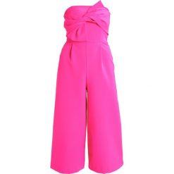 Kombinezony damskie: Topshop TIE BANDEAU  Kombinezon pink