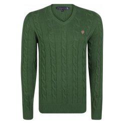 Giorgio Di Mare Sweter Męski M Zielony. Zielone swetry klasyczne męskie marki Giorgio di Mare, m, z bawełny. W wyprzedaży za 199,00 zł.