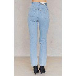 The Ragged Priest Jeansy Honesty - Blue. Niebieskie jeansy damskie The Ragged Priest, z podwyższonym stanem. W wyprzedaży za 88,49 zł.