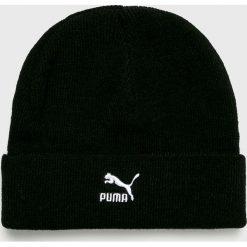 Puma - Czapka. Czarne czapki zimowe męskie Puma, na zimę, z dzianiny. Za 89,90 zł.