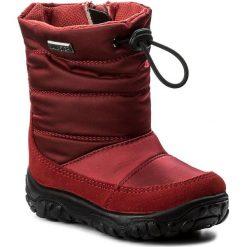 Śniegowce NATURINO - Falcotto By Naturino 0013001202.01.9102 Rosso. Czerwone buty zimowe chłopięce Naturino, z materiału. W wyprzedaży za 249,00 zł.