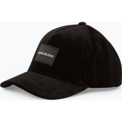 Calvin Klein Jeans - Damska czapka z daszkiem, czarny. Czarne czapki z daszkiem damskie marki Calvin Klein Jeans, z jeansu. Za 159,95 zł.