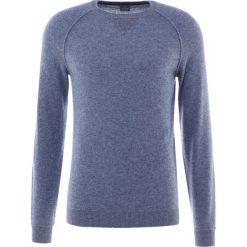 FTC Cashmere Sweter blue stone. Niebieskie swetry klasyczne męskie FTC Cashmere, m, z kaszmiru. W wyprzedaży za 387,60 zł.