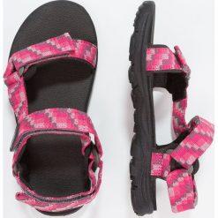 Jack Wolfskin SEVEN SEAS Sandały trekkingowe tropic pink. Czerwone sandały chłopięce marki Jack Wolfskin, z materiału. Za 189,00 zł.
