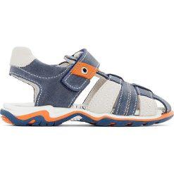 Sandały chłopięce: Skórzane sandały EPAUL