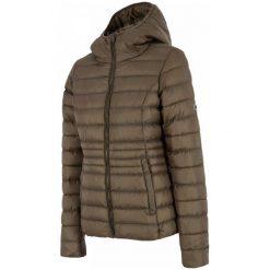 4F Kurtka Damska H4Z17 kud003 Brąz M. Brązowe kurtki damskie softshell 4f, na zimę, s, z puchu. W wyprzedaży za 159,00 zł.
