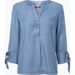 S.Oliver Casual - Damska koszula jeansowa, niebieski. Niebieskie koszule jeansowe damskie marki s.Oliver Casual, s, casualowe. Za 149,95 zł.