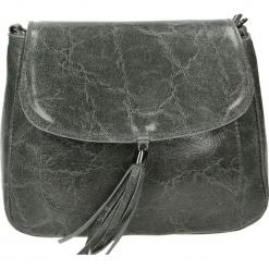Torebka - 4-294-O E GRI. Szare torebki klasyczne damskie Venezia, ze skóry. Za 149,00 zł.