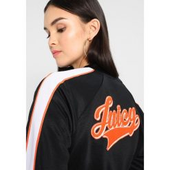 Bluzy rozpinane damskie: Juicy Couture LOGO PATCH TRICOT JACKET Bluza rozpinana oxford