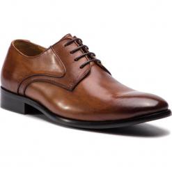 Półbuty KAZAR - Zetos 35361-16-02 Brown. Brązowe buty wizytowe męskie Kazar, ze skóry. Za 449,00 zł.