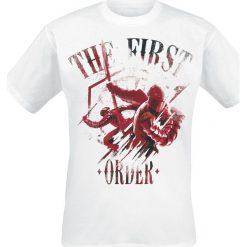T-shirty męskie z nadrukiem: Star Wars Episode 8 – Die letzten Jedi – The First Order T-Shirt biały