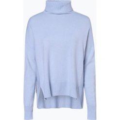 Someday - Sweter damski z dodatkiem kaszmiru – Thelma, niebieski. Niebieskie swetry klasyczne damskie someday., z kaszmiru. Za 699,95 zł.