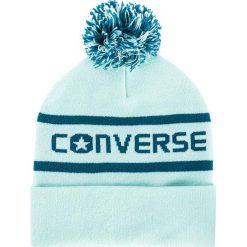Czapka CONVERSE - 562322 Mint Foam. Niebieskie czapki zimowe damskie Converse, z materiału. Za 89,00 zł.