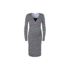 Sukienki ciążowe: ESPRIT Sukienka dla kobiet w ciąży i karmiących black aop