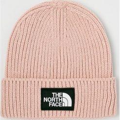 The North Face - Czapka. Różowe czapki zimowe męskie marki The North Face, z dzianiny. W wyprzedaży za 99,90 zł.