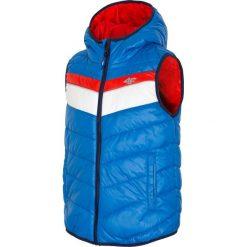 Odzież dziecięca: Bezrękawnik puchowy dla dużych chłopców JKUMB400 - kobalt