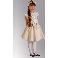 """Spódnica """"Esme"""" w kolorze złotym. Żółte spódniczki dziewczęce z falbankami Paglie, New G.O.L & more, midi. Za 85,95 zł."""