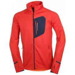Northfinder Bluza Męska Derick Redorange L. Czerwone bluzy męskie rozpinane marki KALENJI, m, z elastanu, z długim rękawem, długie. Za 255,00 zł.