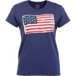 T-shirty damskie: Polo Ralph Lauren FLAG Tshirt z nadrukiem classic royal