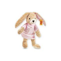Steiff  Maskotka Zajączek Hoppel 20 cm kolor różowy. Czerwone przytulanki i maskotki marki Steiff, z bawełny. Za 126,00 zł.