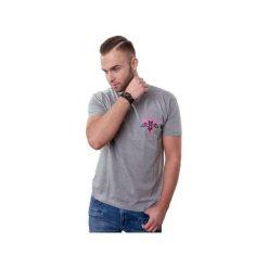 T-shirt Bat Power mini. Szare t-shirty męskie z nadrukiem marki Button. Za 29,00 zł.