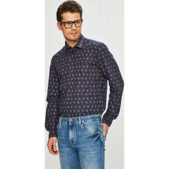 Pierre Cardin - Koszula. Szare koszule męskie na spinki marki S.Oliver, l, z bawełny, z włoskim kołnierzykiem, z długim rękawem. Za 329,90 zł.