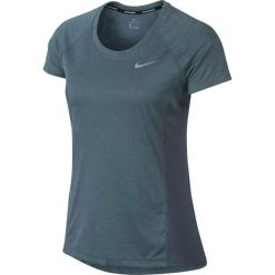 Nike Koszulka damska Dry Miler Top Crew niebieska r. XS (831530 497). Czarne topy sportowe damskie marki Nike, xs, z bawełny. Za 91,66 zł.