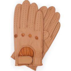 Rękawiczki męskie 46-6L-381-LB. Brązowe rękawiczki męskie marki Wittchen. Za 99,00 zł.