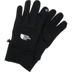 The North Face ETIP Rękawiczki pięciopalcowe black. Czarne rękawiczki damskie The North Face, z elastanu. Za 149,00 zł.