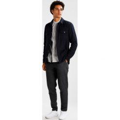 Koszule męskie na spinki: Suit OXFORD MANDARIN Koszula medium grey melange