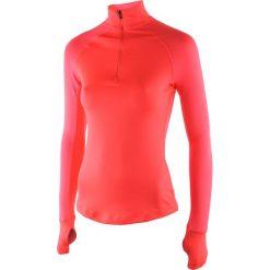 Bluza sportowa damska ADIDAS TECHFIT CLIMAWARM 1/2 ZIP / AY6173. Czarne bluzy rozpinane damskie marki DOMYOS, z elastanu. Za 129,00 zł.